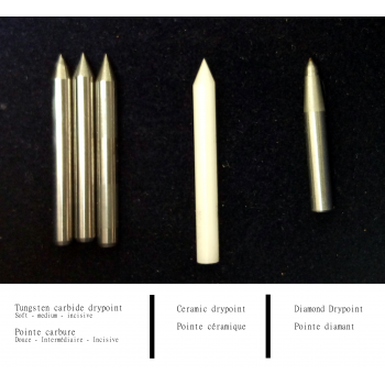 Drypoint tip refill