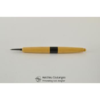 Scraper medium HSS blade (long handle)