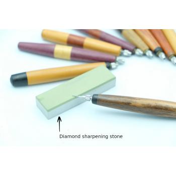 Diamond sharpening stone