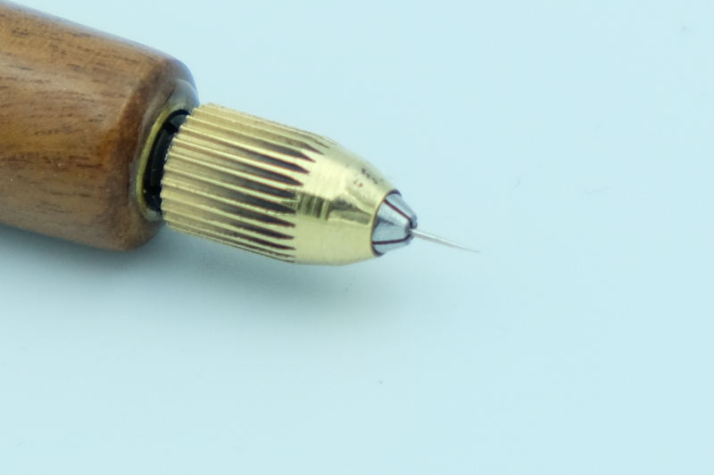 Micro etching needles